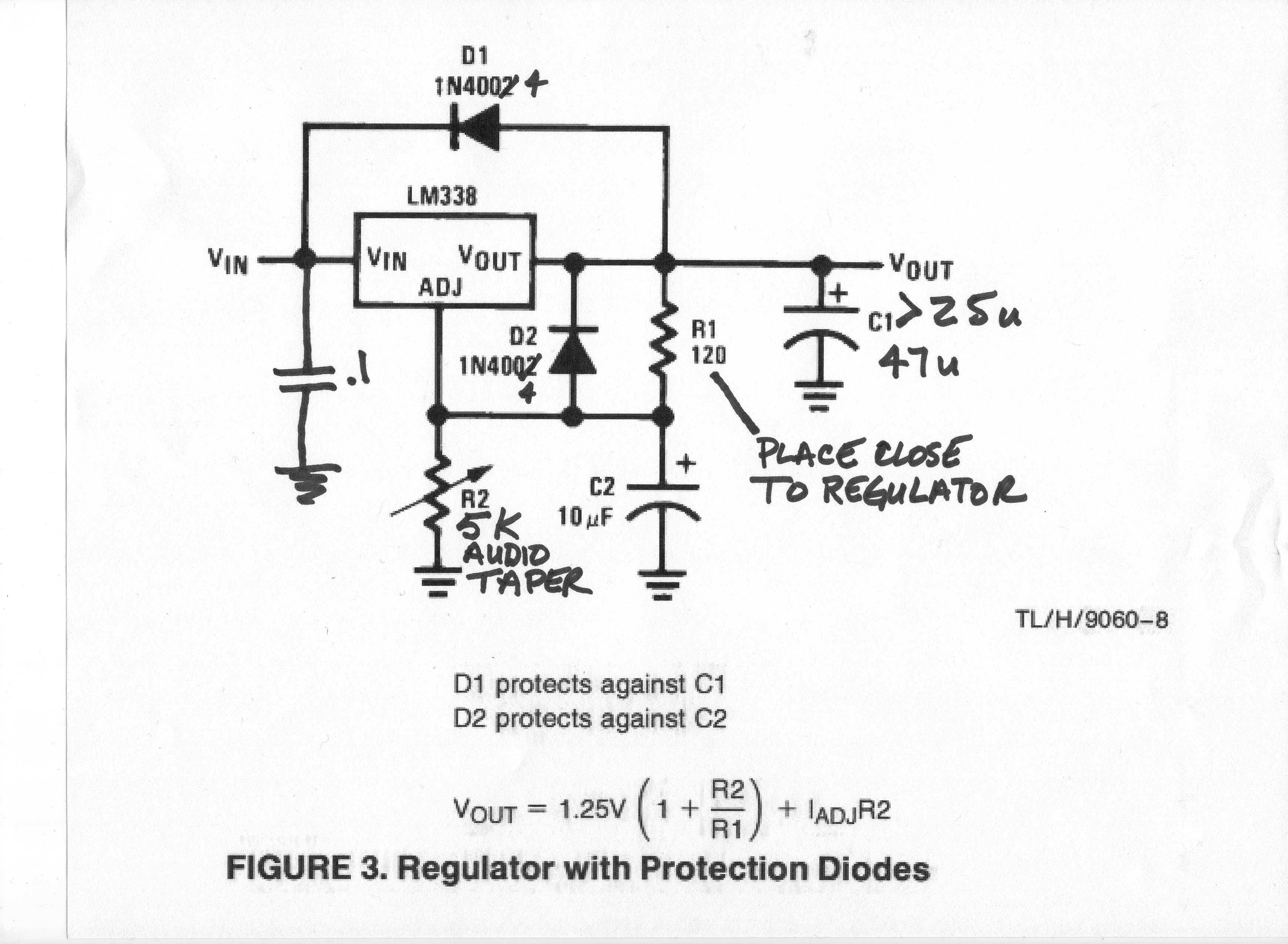 Lm338 Power Supply Photo Page