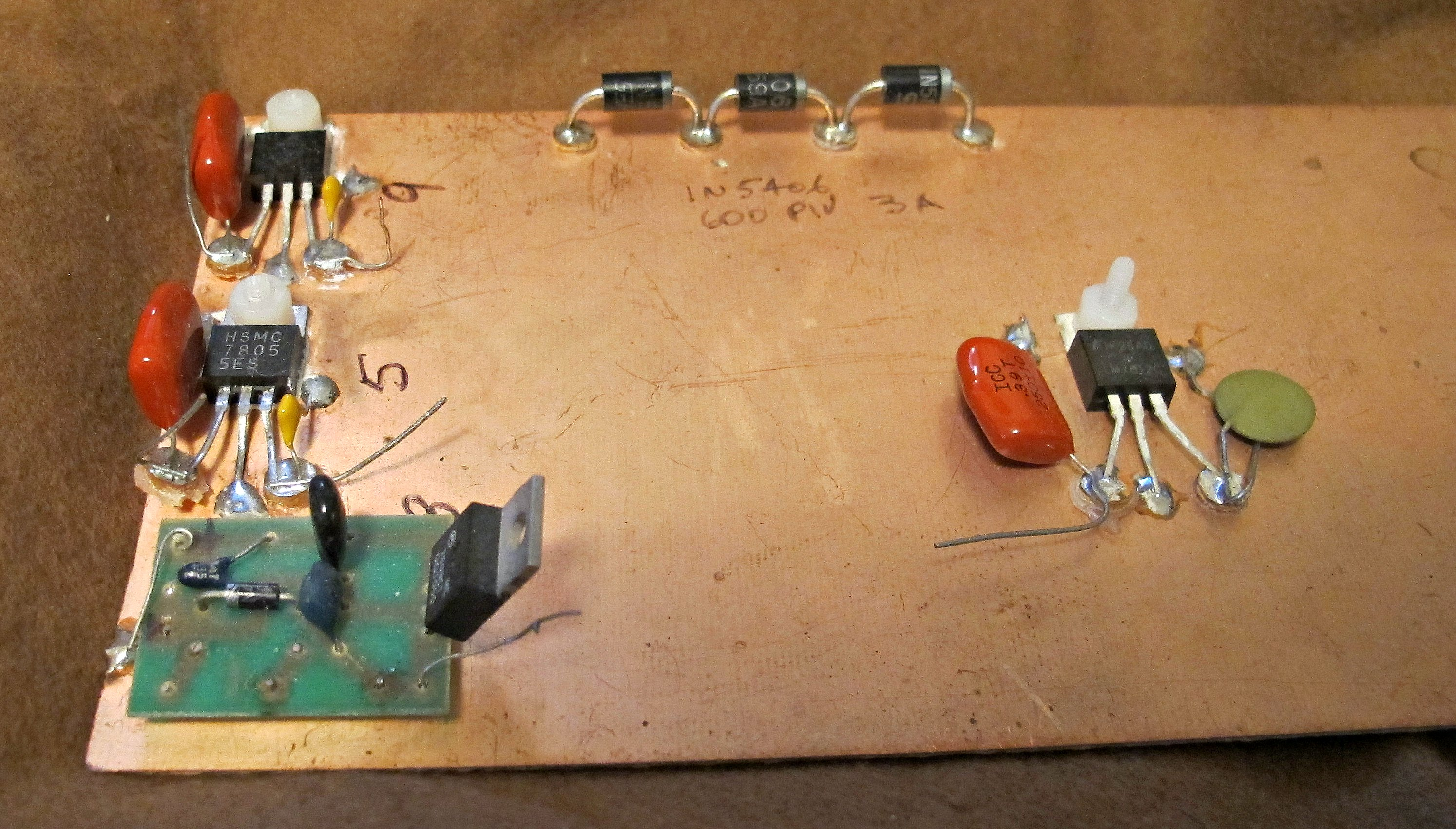 Lm338 Power Supply How To Build Variable Voltage And Current Clumsy Bench